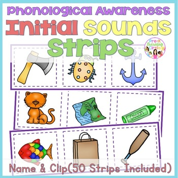 Phonological Awareness - Initial Sound Strips