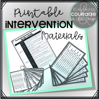 Phonological Awareness Intervention BUNDLE 1 (Syllable Level)