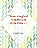 Phonological Awareness Inventory Assessment