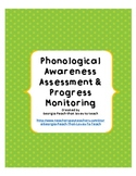 Phonological Awareness Inventory for RTI & Progress Monitoring