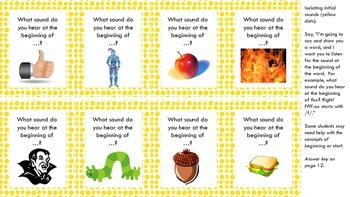 Phonological Awareness: Isolating Initial, Final, and Medial Sounds (Part III)