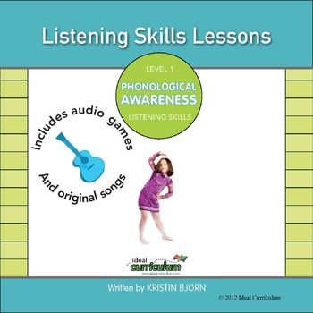 Phonological Awareness Kit 1 **Listening Skills**