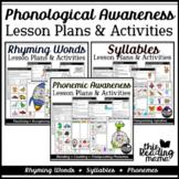 Phonological Awareness Lesson Plans Bundle