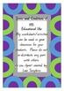 Phonological Awareness - Letter Discrimination.  Queensland Begginer's Font.