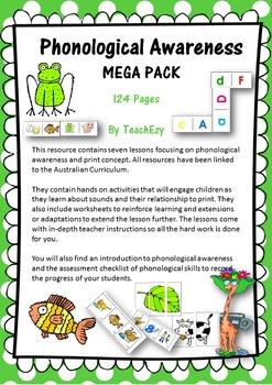 Phonological Awareness MEGA PACK Australia