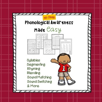 Phonological Awareness Made Easy