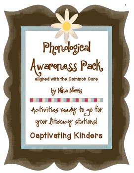 Phonological Awareness Pack