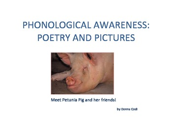 Phonological Awareness: Poetry and Pictures