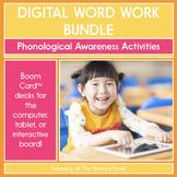 Phonological Awareness Practice - Digital Activities   BOO