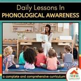 Phonological Awareness Preschool Lesson Plans