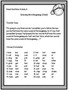 Phonological Awareness Program