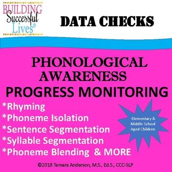 Phonological Awareness Progress Monitoring