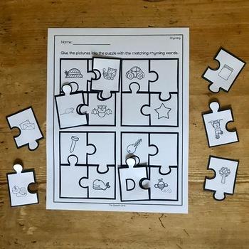 Phonological Awareness Puzzles