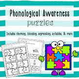 Phonological Awareness Puzzles