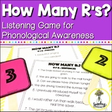 #springintosped1 Phonological Awareness Game - R Speech Th