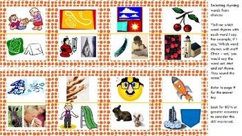 Phonological Awareness RTI Kit: Rhyming!
