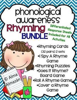 Rhyming Bundle-Phonological Awareness