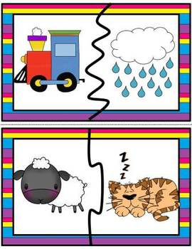 Rhyming-Phonological Awareness- Rhyming Puzzles