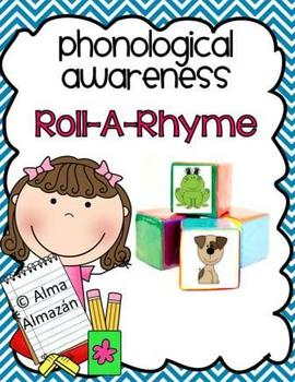 Rhyming-Phonological Awareness- Roll-a-Rhyme