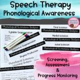 Phonological Awareness Screening Informal Assessment {Phonics Reading Tools}