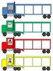 Phonological Awareness Semi Truck Activities