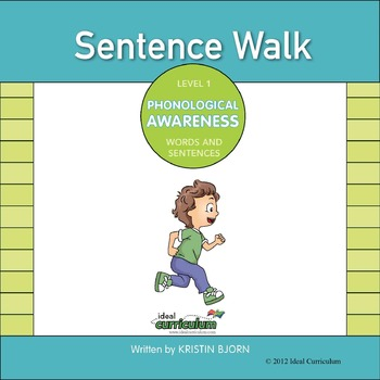 Phonological Awareness Sentence Walk Activity