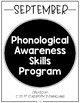 Phonological Awareness Skills Program {Binder Covers FREEBIE}