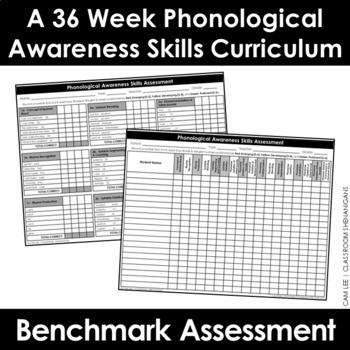 Phonological Awareness Skills Program {Diagnostic Assessment}