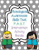 Phonological Awareness Skills Test P.A.S.T - Intervention