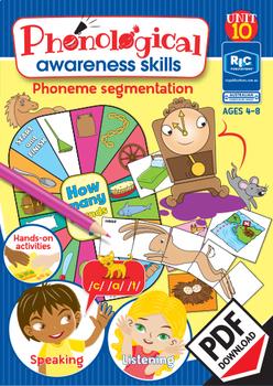 Phonological Awareness Skills – Unit 10 – Phoneme Segmentation