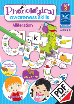 Phonological Awareness Skills – Unit 3 - Alliteration
