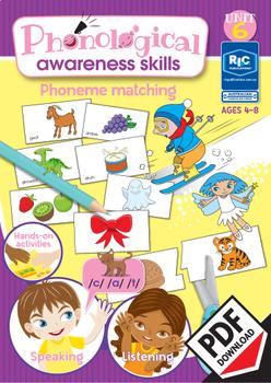 Phonological Awareness Skills – Unit 6 – Phoneme Matching