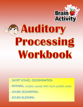 Phonological Awareness Skills Workbook