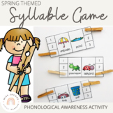 Phonological Awareness: Syllable Center Game
