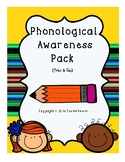 Phonological Awareness Super Pack {No Prep}