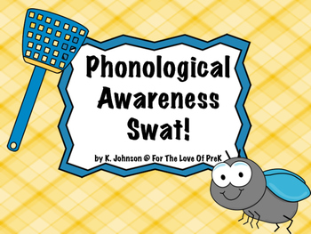 Phonological Awareness Swat