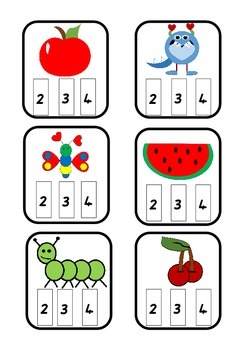 Phonological Awareness - Syllable Counting (Queensland Beginners Font)