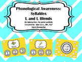 Phonological Awareness - Syllable Identification ( L and L