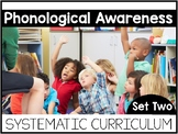 Phonological Awareness Systematic Curriculum SET TWO  | Ho