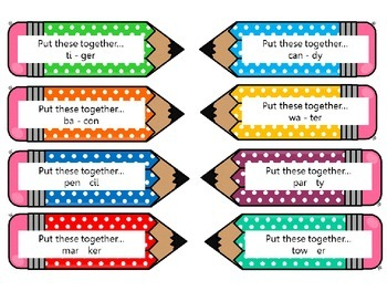 Phonological Awareness Task Cards