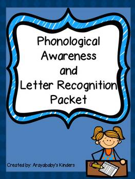 Phonological Awareness and Letter Recognition Activities (letters a-z)
