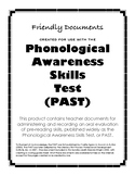 Complete Phonological Awareness and Phonemic Awareness Skills Test