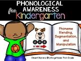 Phonological Awareness for Kindergarten {Phonemes Segmentation}