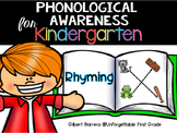 Phonological Awareness for Kindergarten {Rhyming}