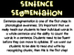Phonological Awareness for Kindergarten {Sentence Segmentation}