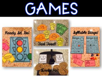 Phonological Awareness for Kindergarten {Syllables}