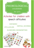 Phonological Awareness for SLPs