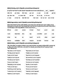 Phonological Awareness to go along with The Pirate Who Couldn't Say Arrr