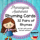 Rhyming-Phonological Awareness-Rhyming Cards