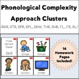 Phonological Complexity Approach - Clusters Flashcards & A